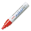 Uni-Ball Uni-Paint Marker - Broad Point Type - Red Oil Based Ink - 1 / Each