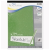 "Mead Academie Sketch Pad - 50 Sheets - Plain - 50 lb Basis Weight - 9"" x 12"" - White Paper - 1Each"