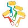 ChenilleKraft Foam Paint Rollers - 4 Brush(es) - Plastic Handle - Yellow