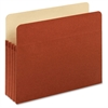 "Pendaflex Top Tab File Pockets - Letter - 8 1/2"" x 11"" Sheet Size - 800 Sheet Capacity - 3 1/2"" Expansion - 22 pt. Folder Thickness - Redrope - Brown - 5 / Pack"
