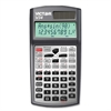 "Victor V34 Advanced Scientific Calculator - 280 Functions - 2 Line(s) - 10 Digits - Battery/Solar Powered - Button Cell - 0.8"" x 3.3"" x 6.3"" - Black - 1 Each"