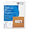 "Elite Image Block-out Laser/Inkjet Labels - Permanent Adhesive - 8.50"" Width x 11"" Length - 25 / Sheet - Rectangle - Laser, Inkjet - White - 25 / Pack"