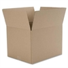 "Caremail Shipping Box - External Dimensions: 12"" Width x 8"" Depth x 12"" Height - Kraft - Brown - For Multipurpose - Recycled - 12 / Pack"