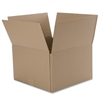 "Binder Box - External Dimensions: 12"" Width x 10"" Depth x 15"" Height - Kraft - Brown - For Multipurpose - Recycled - 12 / Pack"
