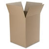 "Extra Large Foldable Box - External Dimensions: 18"" Width x 24"" Depth x 18"" Height - Kraft - Brown - For Multipurpose - Recycled - 12 / Pack"