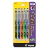 PRECISE P700 Fine Point Gel Rollerball Pens - Fine Point Type - 0.7 mm Point Size - Assorted Gel-based Ink - 5 / Pack