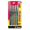 PRECISE Precise-V Nonrefillable Pens - Extra Fine Point Type - 0.5 mm Point Size - Assorted - 5 / Pack
