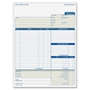 "Adams Contractor Form - 100 Sheet(s) - 2 Part - Carbonless Copy - 8.50"" x 11.43"" Form Size - 1 Each"