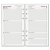 "Day Runner Express 063285Y Planning Page - Julian - Weekly - 1 Year - January 2017 till December 2017 - 9:00 AM to 5:00 PM - 1 Week Double Page Layout - 3.75"" x 6.75"" - 6-ring - White"