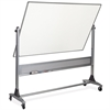 "MooreCo Dura-Rite Platinum Dry-Erase Board - 72"" (6 ft) Width x 48"" (4 ft) Height - Rectangle - Assembly Required - 1 Each"