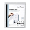 Durable Replacement Paper Insert - 20 / Pack - White