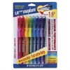 Maxum Ballpoint Pen - Thick, Bold Point Type - 1.6 mm Point Size - Assorted - Clear Rubber Barrel - 8 / Pack