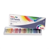 Pentel Arts Oil Pastels - Assorted - 25 / Set