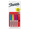 Sharpie Mini Marker - Fine Point Type - Assorted - 4 / Set