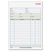 "Adams Sales Order Book - 3 Part - Carbonless Copy - 8.40"" x 5.60"" Sheet Size - 1 Each"