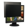 "Compucessory 17"" LCD Monitor Privacy Filter Black - For 17""Monitor"