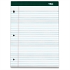 "Double Docket Writing Pad - 100 Sheets - Printed - Double Stitched - 60 lb Basis Weight - Letter 8.50"" x 11"" - White Paper - 3 / Pack"