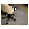 "Diamond Anti-static Chair Mat - Carpeted Floor - 48"" Length x 36"" Width x 0.12"" Thickness - Lip Size 12"" Length x 20"" Width - Rectangle - Clear"
