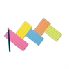 Pacon Super Bright Flash Cards - Educational
