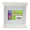 "ChenilleKraft 5/16"" Dual Temperature Glue Sticks - 4 oz - 1 / Pack - Clear"