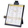 Copy Holder with Document Clip - 1 Each - Black