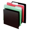 "Buddy Classic Slant Desktop File Organizer - 8 Pocket(s) - 11"" Height x 9.9"" Width x 7.9"" Depth - Desktop - Black - Steel - 1Each"