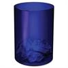 CEP Shock Resistant Waste Basket - 4.23 gal Capacity - Round - Polystyrene - Blue