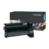 Lexmark XL Extra High Yield Return Program XL Cyan Toner Cartridge - Laser - 16500 Pages - 1 Each