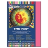 "Tru-Ray Sulphite Construction Paper - 9"" x 12"" - 76 lb Basis Weight - 50 / Pack - Light Red - Sulphite"