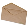 "Pendaflex No.10 Recycled Kraft Envelopes - Business - #10 - 9.50"" Width x 4.13"" Length - 60 lb - V-shaped Flap - 500 / Box - Natural Brown"