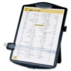 "Sparco Document Holder with Clip - 10"" x 2"" x 14"" - 1 Each - Black"