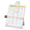 "Easel Document Holder with Clip - 10.4"" x 2.3"" x 12.5"" - 1 Each - Light Gray"