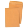 "Sparco Kraft Self-sealing Catalog Envelopes - Catalog - 9"" Width x 12"" Length - 28 lb - Self-sealing - Kraft - 100 / Box - Kraft"
