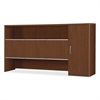 "HON Attune Series Stack-on Storage Cabinet - 72"" Width x 14.6"" Depth x 37.1"" Height - Wood Grain - Cherry, Laminate"