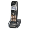 "Panasonic DECT 6.0 Cordless Handset - 1.4"" Screen Size - 12 Hour Battery Talk Time - Metallic Black"