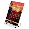 "Deflect-o DocuHolder Wire Literature Holder - 1 Compartment(s) - 9.5"" Height x 9.9"" Width x 5.5"" Depth - Desktop - Chrome - Steel - 1Each"