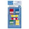 "Sparco Removable Flags Combo Pack - 1"", 0.50"" - Rectangle - Assorted - Self-adhesive - 270 / Pack"