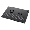 """Notebook Stand - 1.8"""" Height x 10.3"""" Width x 14.3"""" Depth - Aluminum - Black"""