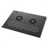"Compucessory Notebook Stand - 1.8"" Height x 10.3"" Width x 14.3"" Depth - Aluminum - Black"