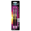 Uni-Ball Signo 207 Gel Pen - 0.7 mm Point Size - Refillable - Black Gel-based Ink - 2 / Pack