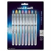 Uni-Ball Vision Elite Rollerball Pens - Bold Point Type - 0.8 mm Point Size - Refillable - Assorted Gel-based Ink - 8 / Pack