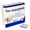 "Sani-Hands Individual Packets Hand Wipes - 5"" x 8"" - White - Anti-septic, Anti-bacterial - For Hand - 100 Sheets Per Box - 100 / Box"