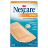 "Nexcare Diamond-shape Knee/Elbow Bandage - 1.13"" x 4"" - 48/Box - Beige"