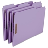 "Colored Fastener Folders with Reinforced Tabs - Letter - 8 1/2"" x 11"" Sheet Size - 3/4"" Expansion - 2 Fastener(s) - 2"" Fastener Capacity - 1/3 Tab Cut - Assorted Position Tab Location - 11 pt. F"
