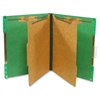 "SJ Paper Hanging Classification Folder - Letter - 8 1/2"" x 11"" Sheet Size - 2"" Expansion - 4 Fastener(s) - 2"" Fastener Capacity for Folder - 2 Divider(s) - 25 pt. Folder Thickness - Pressboard - Emera"