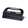 "Sparco 3-hole Heavy-duty Punch - 3 Punch Head(s) - 40 Sheet Capacity - 9/32"" Punch Size - Gray"