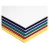 "Pacon Fome-Cor Foam Board - 20"" x 30"" - 10 / Carton - Assorted - Polystyrene"