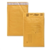 "Alliance Rubber Kraft Bubble Mailer - Bubble - #0 - 6"" Width x 10"" Length - Peel & Seal - Paper - 25 / Carton - Kraft"