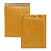 "Alliance Rubber Kraft Bubble Mailers - Bubble - #2 - 8.50"" Width x 12"" Length - Peel & Seal - Paper - 25 / Carton - Kraft"
