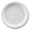 "Huhtamaki Classic White Premium Strength Tableware - 6.75"" Diameter Plate - White - 125 Piece(s) / Pack"